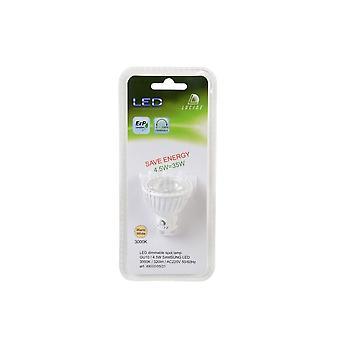 Lucide lâmpada LED refletor moderna branca Material sintético e lâmpada de LED transparente