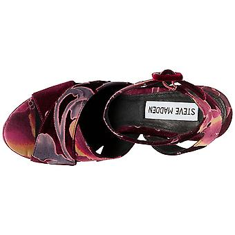 Steve Madden Womens Jodi Fabric Open Toe Special Occasion Platform Sandals