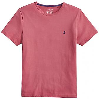 Joules Joules Laundered Tee Mens Plain Crew Neck Tee S/S 19