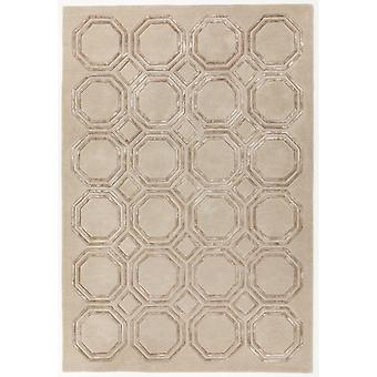 Nexus-Octagon-Teppich In Beige
