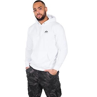 Alpha industries men's Hooded sweater basic small logo
