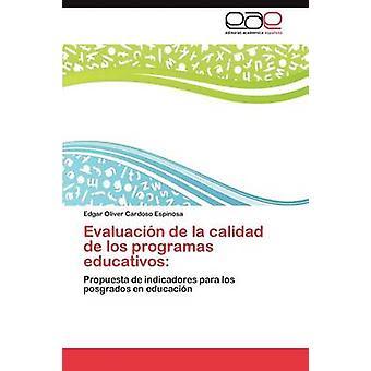 Evaluacin de la calidad de los programas educativos af Cardoso Espinosa Edgar Oliver