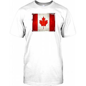Canadian Flag - Canada Kids T Shirt