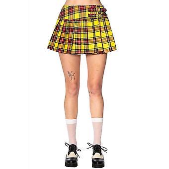 Banned Apparel Tartan Mini Skirt