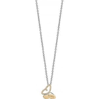 Necklace and pendant Guess Mariposa UBN83018 - necklace and pendant Butterfly Ajour gold woman