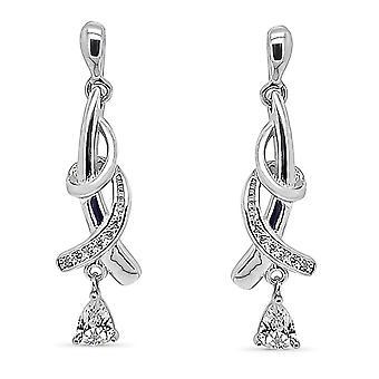 Ah! Sieraden Design met duidelijke daling draai & geplaveid kristallen van Swarovski