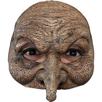 Wizard Latex Half masker voor volwassenen