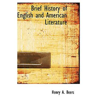 Brief History of English and American Literature by Brief History of