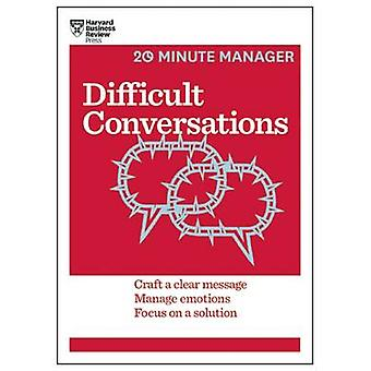 Difficult Conversations by Harvard Business Review - 9781633690783 Bo
