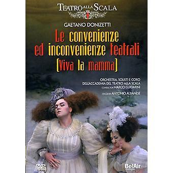 Le Convenienze Ed Inconvenienze Teatrali [DVD] USA import