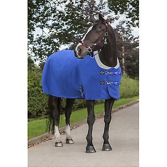 LeMieux Lemieux Four Seasons Horse Fleece Rug - Benetton Blue
