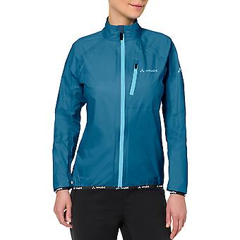 Vaude Women's Drop Biking Rain Jacket III - Kingfisher