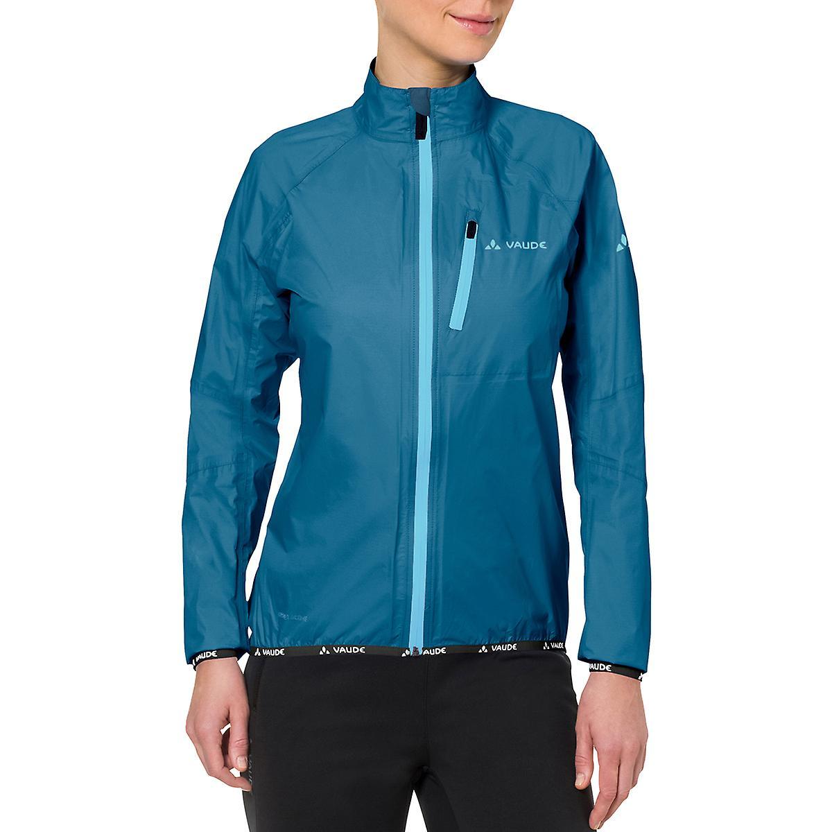 Vaude femmes& 039;s Drop Biking Rain veste III - Kingfisher