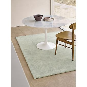 Palm Palm 01 Light vert Rectangle tapis Plain/presque tapis Plain