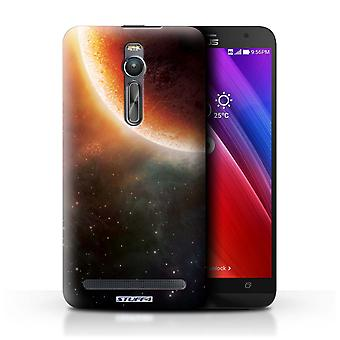 STUFF4 Case/Cover for Asus Zenfone 2 ZE551ML/Orange Eclipse/Space/Cosmos