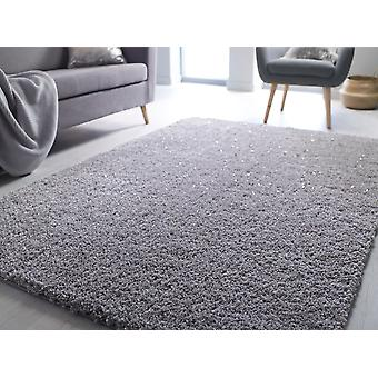 Veloce Silver  Rectangle Rugs Plain/Nearly Plain Rugs