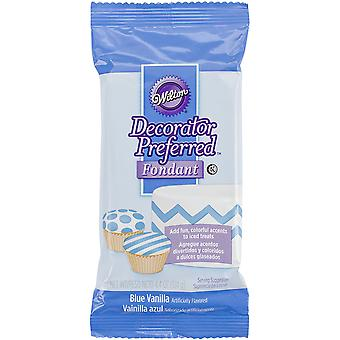 Decorator Preferred Fondant 4.4oz-Blue W391