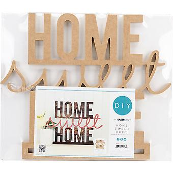 Beyond The Page MDF Home Sweet Home Standing Words-16.25