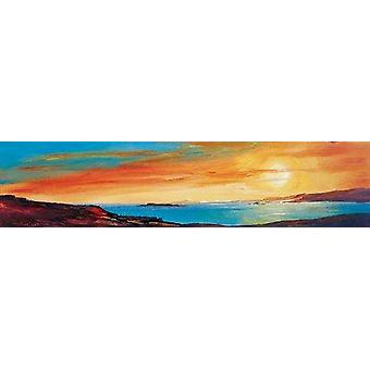 Ronnie Leckie impression - Golden Sunset 2