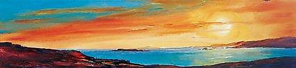 Ronnie Leckie afdrukken - Golden Sunset 2