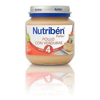 Nutribén Vegetables Chicken 130g (Enfance , Alimentation , Petits-pots)