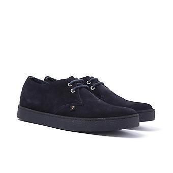 Farah Fame Navy Suede Shoes