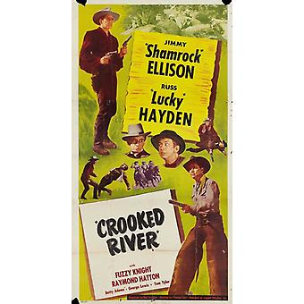 Crooked River filmposter (11 x 17)