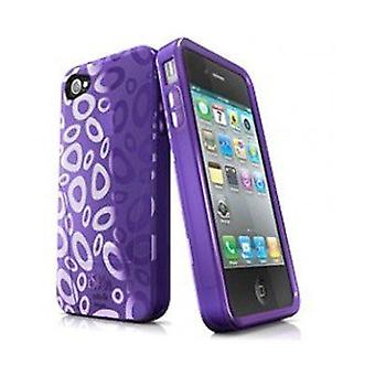 iSkin solo FX SE protective case for iPhone 4 / 4 S - purple