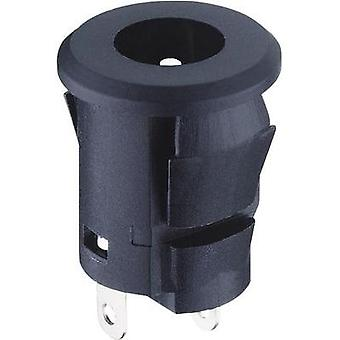 Low power connector Socket, vertical vertical 5.8 mm 2.35 mm