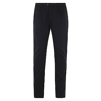 Aquascutum Navy Parrett Cotton Chinos
