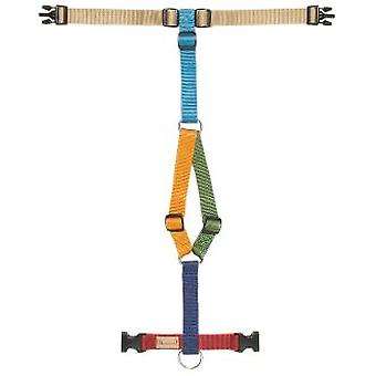 Haqihana Harness Long Dogs Multicolored (Dogs , Walking Accessories , Harnesses)