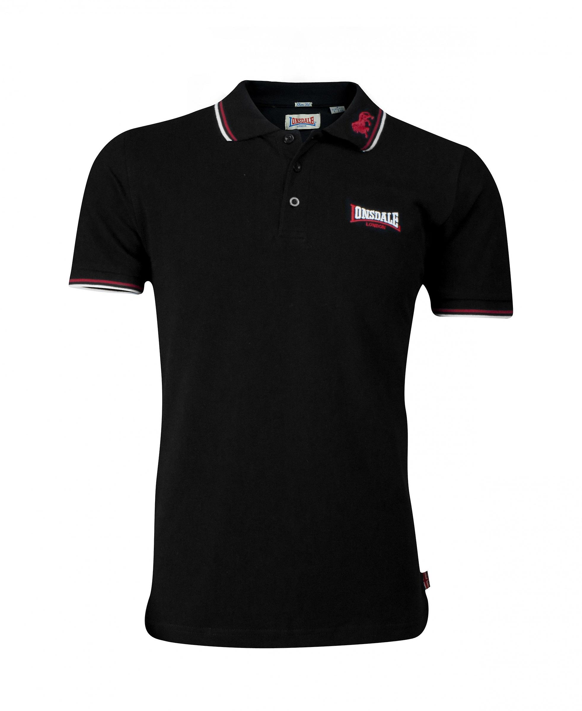 Lonsdale mens polo shirt lion