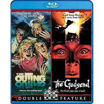 Outing / Godsend Double Feature [BLU-RAY] USA import