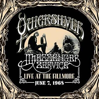 Quicksilver Messenger Service - Live at Fillmore juni 7 1968 [CD] USA importen