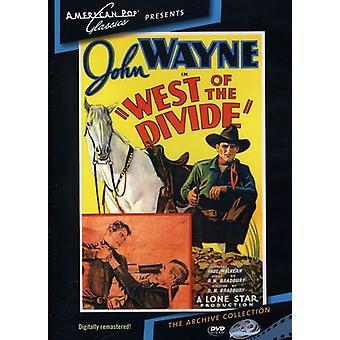 Oeste de la divisoria (1934) [DVD] los E.e.u.u. la importación
