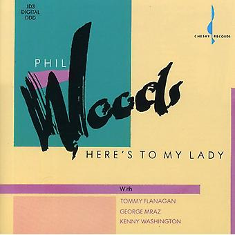 Phil Woods - Here's to My Lady [CD] USA import