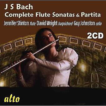 Stinton/Wright/John - Bach: Complete Flute Sonatas & Partita [CD] USA import