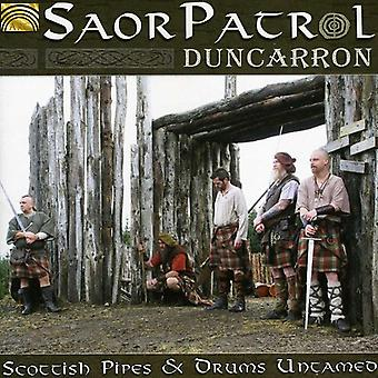 Saor Patrol - Duncarron: Scottish Pipes & Drums Untamed [CD] USA import