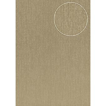 High-quality tone on-tone wallpaper Atlas COL-526-6 non-woven wallpaper smooth with abstract pattern matt grey beige grey Silver 5.33 m2