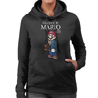 Fantastiske dyr Mario kvinder hættetrøje
