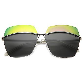 Unisex Square solbriller med UV400 beskyttet sammensatte linse