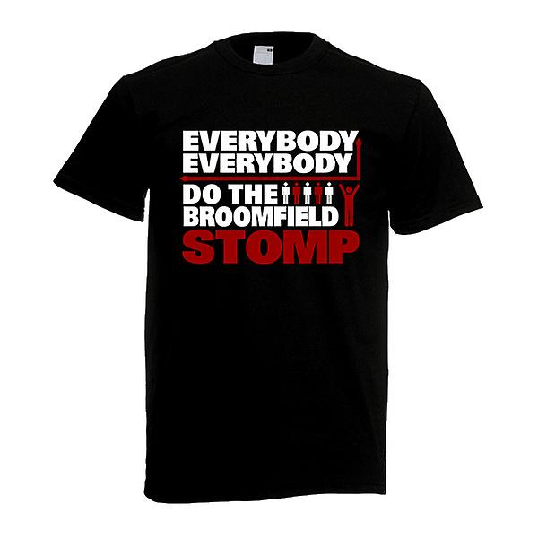 Airdrie Broomfield Stomp T-Shirt (Black)