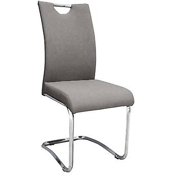SZ Suárez Lounge Chair Tais Gris / Chrome