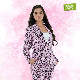 Rosie JAG Jaguar pink women's suit Mister pink 2-piece costume deluxe EU SIZES