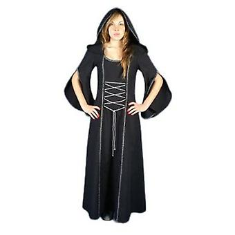 Medieval Factory Traje Medieval Mujer Morgana color negro (Costumes)