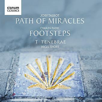Owain Park / Talbot / Tenebrae / Short - Owain Park: Footsteps / Joby Talbot: Path of [CD] USA import