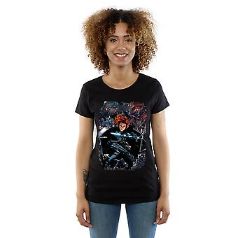 Marvel Women's Captain America Civil War Black Widow Breakout T-Shirt