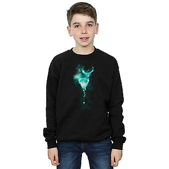 Harry Potter Jungen Hirsch Patronus Nebel Sweatshirt