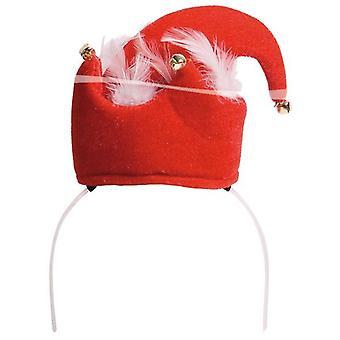 Haarreif Weihnachtsmütze Elfenhut Hut Weihnachten Unisex
