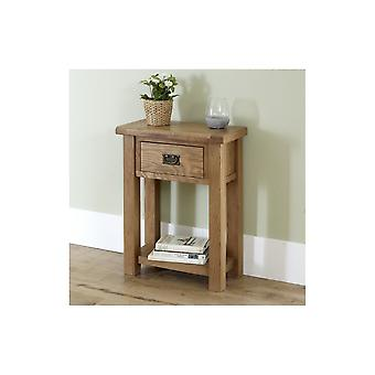Birlea Malvern 1 Drawer Console Table Oak
